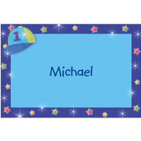 All Star 1st Birthday Custom Thank You Note