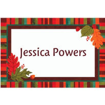 Falling Foliage Custom Thank You Note