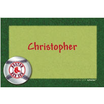 Boston Red Sox Custom Thank You Note