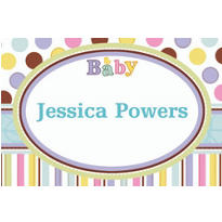 Custom Tiny Bundle Baby Shower Thank You Notes