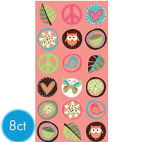 Hippie Chick Paper Bags 8ct