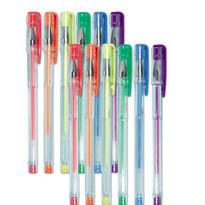 Neon Doodle Gel Pens 12ct