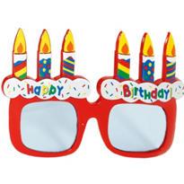 Cake Birthday Glasses