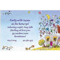 Party House Custom Invitation