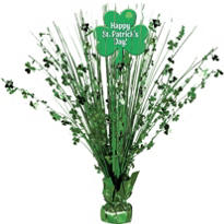 St. Patricks Day Spray Centerpiece