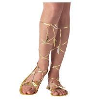 Gold Goddess Sandals