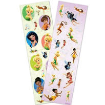 Tinker Bell and Disney Fairies Stickers 2 Sheets