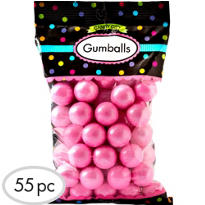 Light Pink Gumballs 56pc