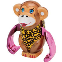 Myra Monkey Windup Toy