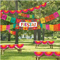 Giant Fiesta Decorating Kit 4pc