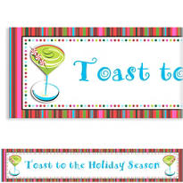 Holiday Buzz 2 Custom Christmas Banner