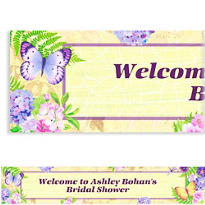 Custom In the Garden Banner 6ft
