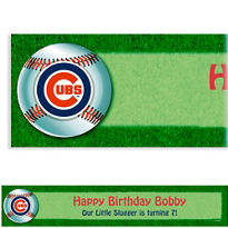 Chicago Cubs Custom Banner 6ft
