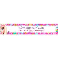 Barbie Custom Birthday Banner 6ft