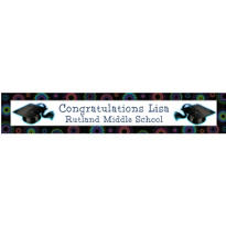 Ready for the World Custom Graduation Banner 6ft