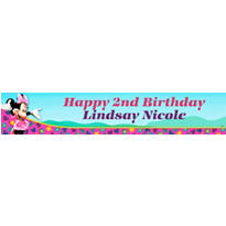 Minnie Mouse Custom Banner 6ft