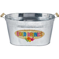 Summer Metal Tub 17in x 12 1/2in