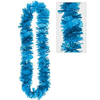 Blue Summer Breeze Lei 40in