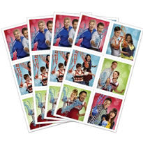 Glee Stickers 4 Sheets