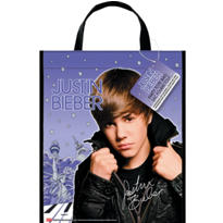Justin Bieber Tote Bag 13in