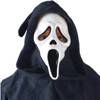 Ghost Face Mask Deluxe