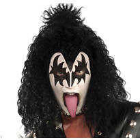 Gene Simmons Wig - KISS