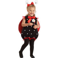Toddler Girls Lil Lady Bug Costume