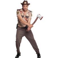Adult Rick Grimes Costume - Walking Dead