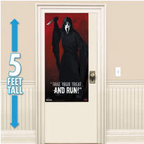 Ghost Face Door Cover 60in