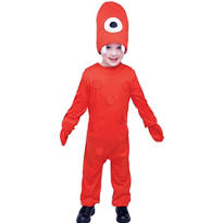 Toddler Boys Muno Costume  - Yo Gabba Gabba!