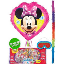 Pull String Minnie Mouse Pinata Kit