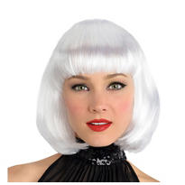 White Platinum Wig