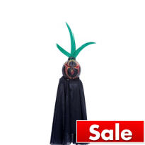 Hanging Killer Pumpkins Pumpkin Head 15in
