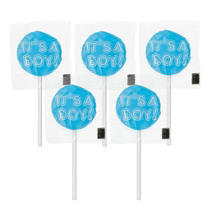 It's a Boy Lollipops Baby Shower Favor 5ct