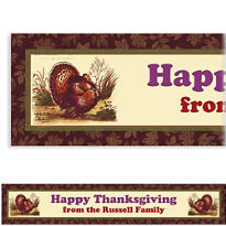 Thanksgiving Sophistication Custom Banner