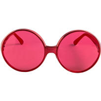 Glamorous Red Sunglasses 6in