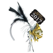 New Years 2013 Feather Headband
