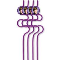 Justin Bieber Straws 4ct