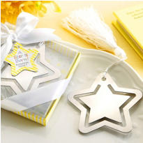 A Star Is Born Metal Bookmark Baby Shower Favor