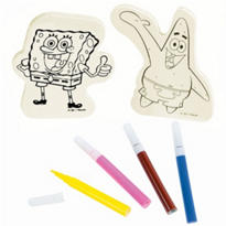SpongeBob Wood Decorating Kit
