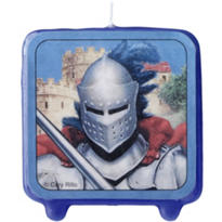 Valiant Knight Candle 3in