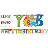 Add an Age Uglydoll Letter Banner 7ft
