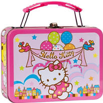 Hello Kitty Metal Mini Lunch Box 5 1/2in x 4in