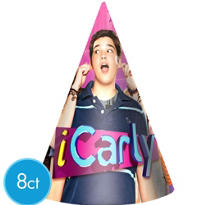 iCarly Party Hat 8ct