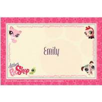 Littlest Pet Shop Custom Thank You Note