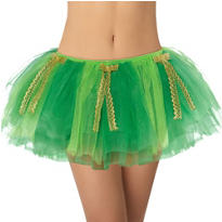 Adult St. Patrick's Day Tutu with Bows