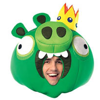 Deluxe Angry Birds King Pig Mask
