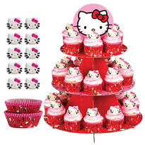 Hello Kitty Cupcake Kit For 24