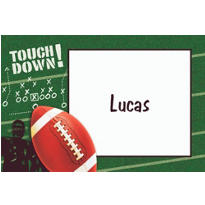 Football Frenzy Custom Thank You Note