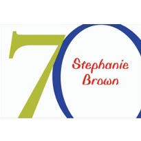 Great Big 70th Custom Thank You Note